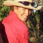 Head and shoulder photo of Casey Collier, Pastoral Production Officer, Department of Agriculture and Food, Tennant Creek