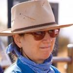 Head and shoulder photo of Jocelyn Coventry, Pastoral Production Officer, Department of Agriculture and Food, Alice Springs