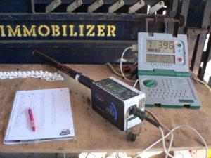 NLIS recording equipment