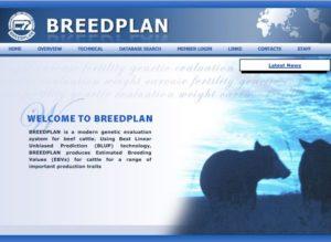 breedplan website front page