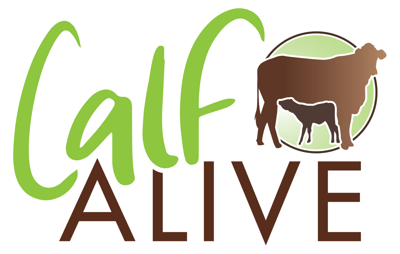 The Calf Alive symposium logo.
