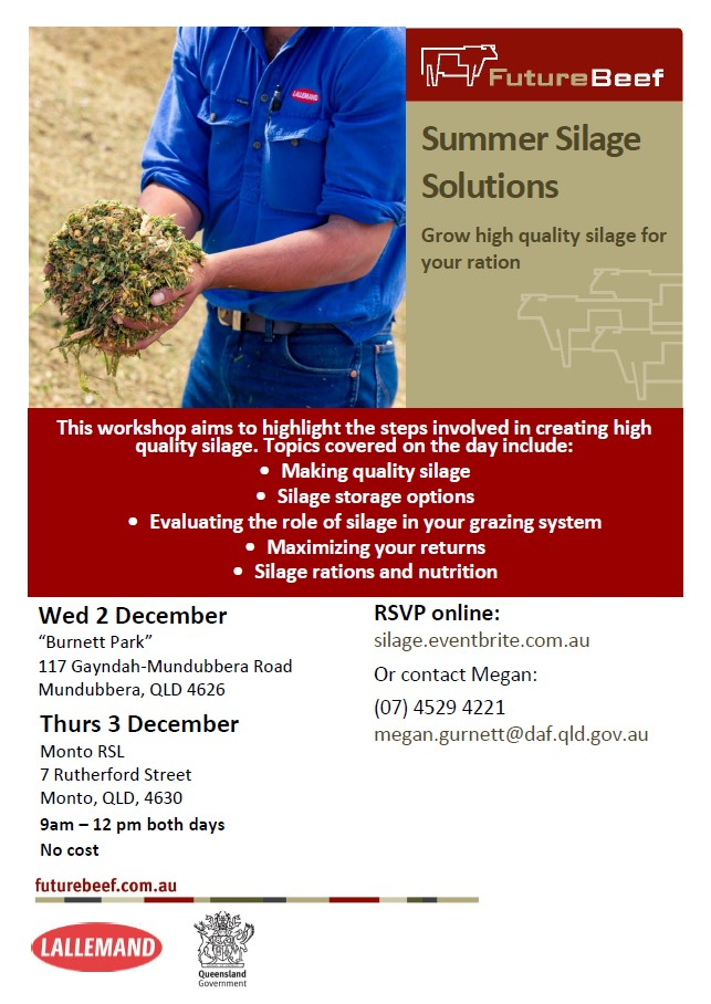 Summer silage solutions