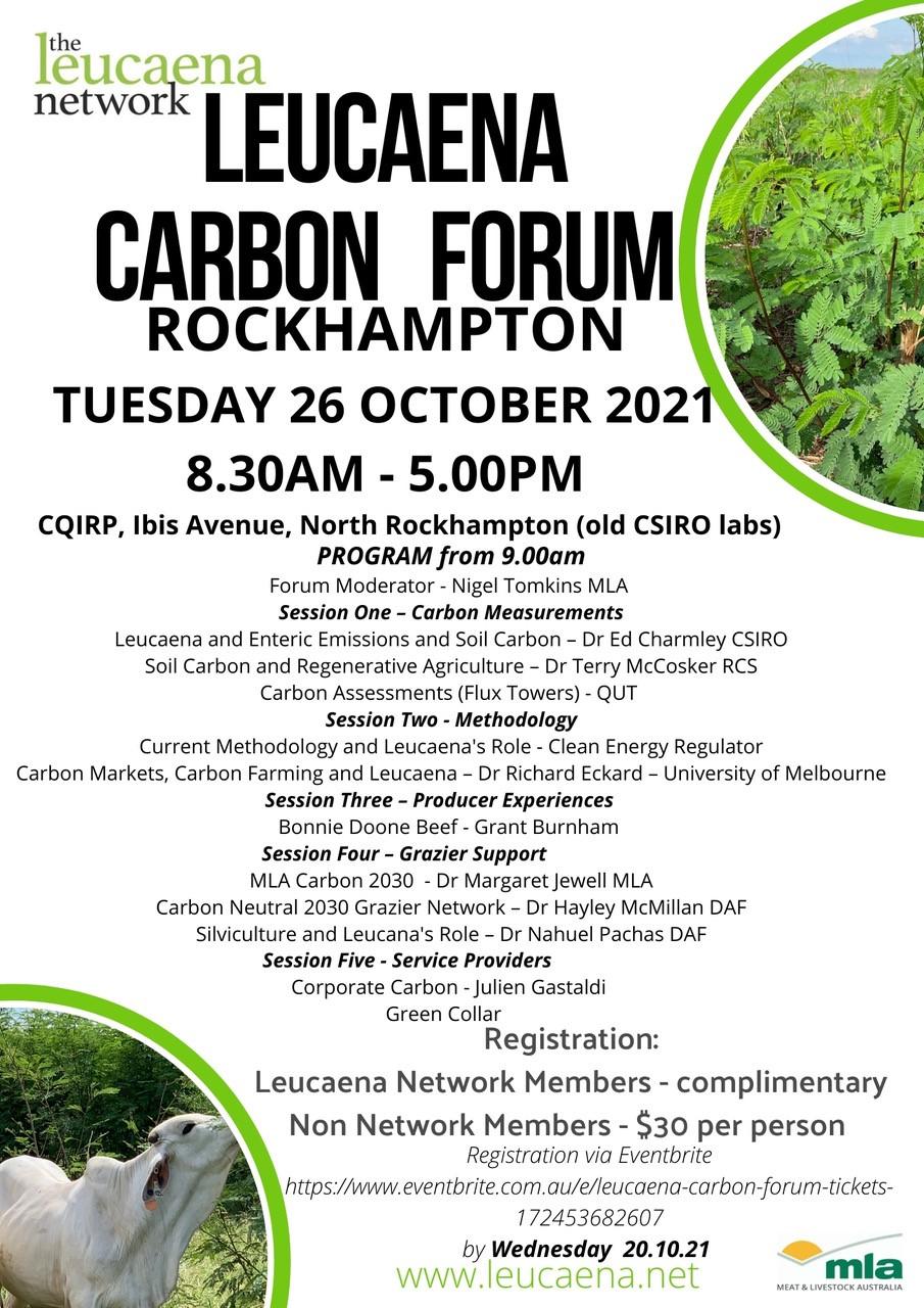 Leucaena carbon forum