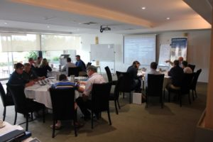 Participants work with mentors around key business issues for their own enterprises.
