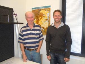 Richard Silcock, DAF (l) and Chris Holloway, DAF (r)