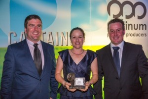 Zanda Award Winner and Runners Up (l-r) - Luke Wright, Emma Hegarty and Athol New.